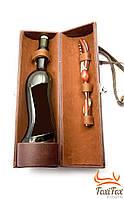 Футляр для бутылки с набором сомелье ( винный набор )