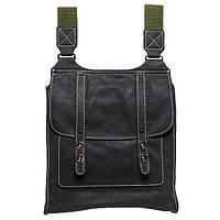 Кожаная сумка Black Brier зеленая C-1-76