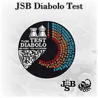 Пули JSB Diabolo Test 350 шт/уп, 0,520; 0,535 гр 4,5 мм