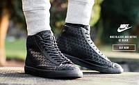 Кроссовки Nike Blazer Mid black - 1350