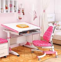 Комплект письменный стол K1 и детское кресло 639