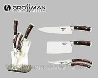 Набор кухонных ножей GROSSMAN на стильной подставке