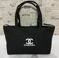 Женская сумка CHANEL стеганая тканевая. Практичная сумка. Оригинальный дизайн. Интернет магазин. Код: КДН109