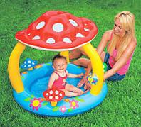 Детский бассейн Грибок с навесом Intex 57407