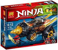 """Конструктор Lele Ninja (аналог Lego Ninjago) 79116 """"Земляной бур Коула"""", 171 дет ."""