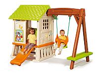 Игровой домик с горкой и качелями Винни Smoby 310463