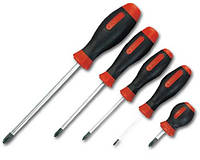 Отвертка шлиц SL 6*100 мм (ручка резина)