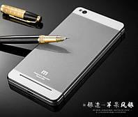 Чехол бампер каленое стекло для Xiaomi Redmi 3