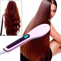 Расческа-выпрямитель Fast Hair Straightener (HQT-906)