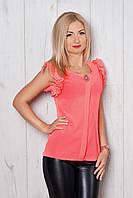 Женская блузка 367 (розовый)