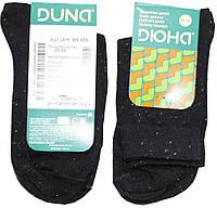 Носки детские, черные в мелкую точечку, размер 20-22, Дюна