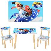 """Детский столик со стульчиками 501-29 """"Белка и Стрелка"""""""