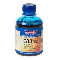 Чернила WWM E83 для Epson, 200г, Cyan, с повышенной светостойкостью