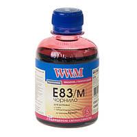 Чернила WWM E83 для Epson, 200г, Magenta, с повышенной светостойкостью