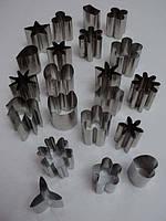 Набор металлических вырубок для мастики из 24 шт.