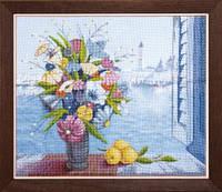 Набор для частичной вышивки крестиком Crystal Art Утро в Венеции
