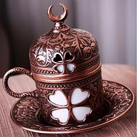 Чашка для кофе Бронзовый цветок