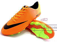 Бутсы (копы) Nike Mercurial Victory (Оранжевый)