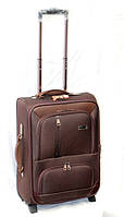 Стильный дорожный чемодан на двух колесах