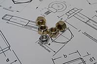 Самоконтрящаяся гайка М12 DIN 980 шестигранная