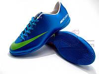 Футзалки (бампы) Nike Mercurial Victory Pro (синий)