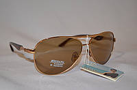 Солнцезащитные очки мужские капли коричневый BOGUAN 3325