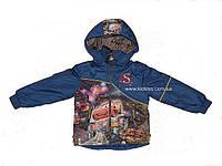 Демисезонная детская куртка. Детская ветровка с принтом
