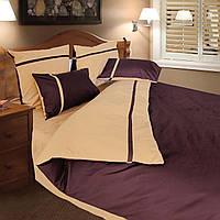 Комплект постельного белья ТЕП (Коричневый, бежевый)
