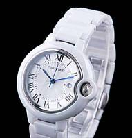 Женские КЕРАМИЧЕСКИЕ часы Ballon Bleu de Cartier (Картье)