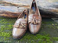 Мужские туфли лоферы, Giorgio Brutini, 27 см, 42 размер. Код: 080.