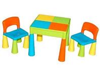 Комплект Tega MAMUT стол+2 стула MT-001 899 multicolor