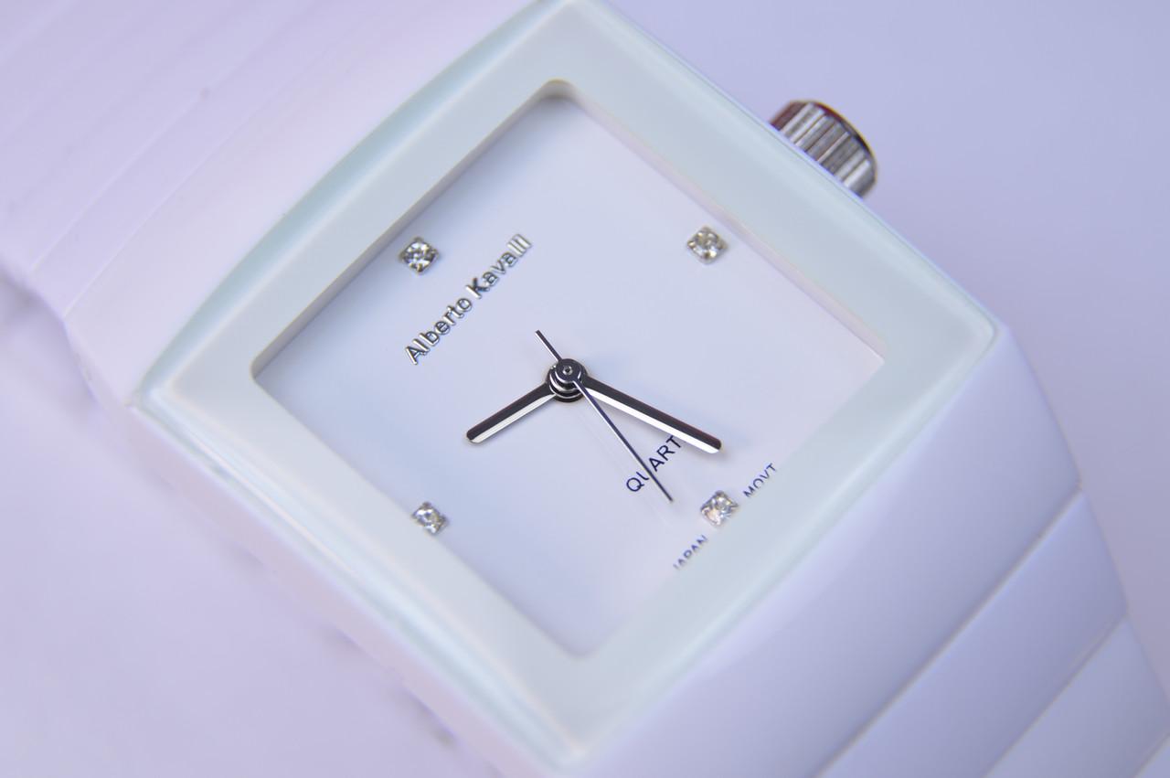 Женские наручные часы Alberto Kavalli Оriginal 06553-01Japan(Miyota) Белые браслет