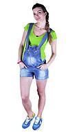 Джинсовые шорты-трансформер для беременных