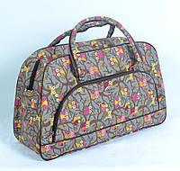 Текстильная сумка-саквояж среднего размера (код 87-588)