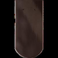 Керамическая (натуральная) черепица Опал глазурь Braas тек, королевский серый,  черный хрусталь