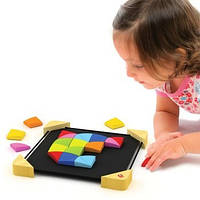 "Деревянная игрушка головоломка на магнитах ""Magnetic Mosaic"" 897664"
