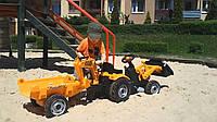 Трактор педальный  Builder Max Smoby