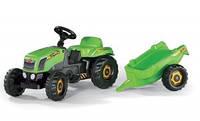 Трактор Педальний с прицепом Kid Rolly Toys 12169