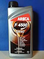Моторное масло ARECA F4500 5W40 (1л.)/ синтетика для бензиновых и дизельных двигателей