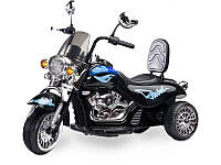 Детский электромотоцикл Caretero Rebel black