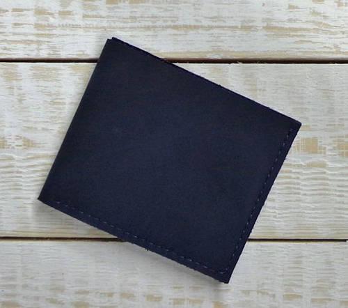 Фантастический кошелек из натуральной кожи GBAGS W002 синий
