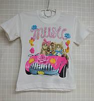 Детская футболка для девочки 1-3 года