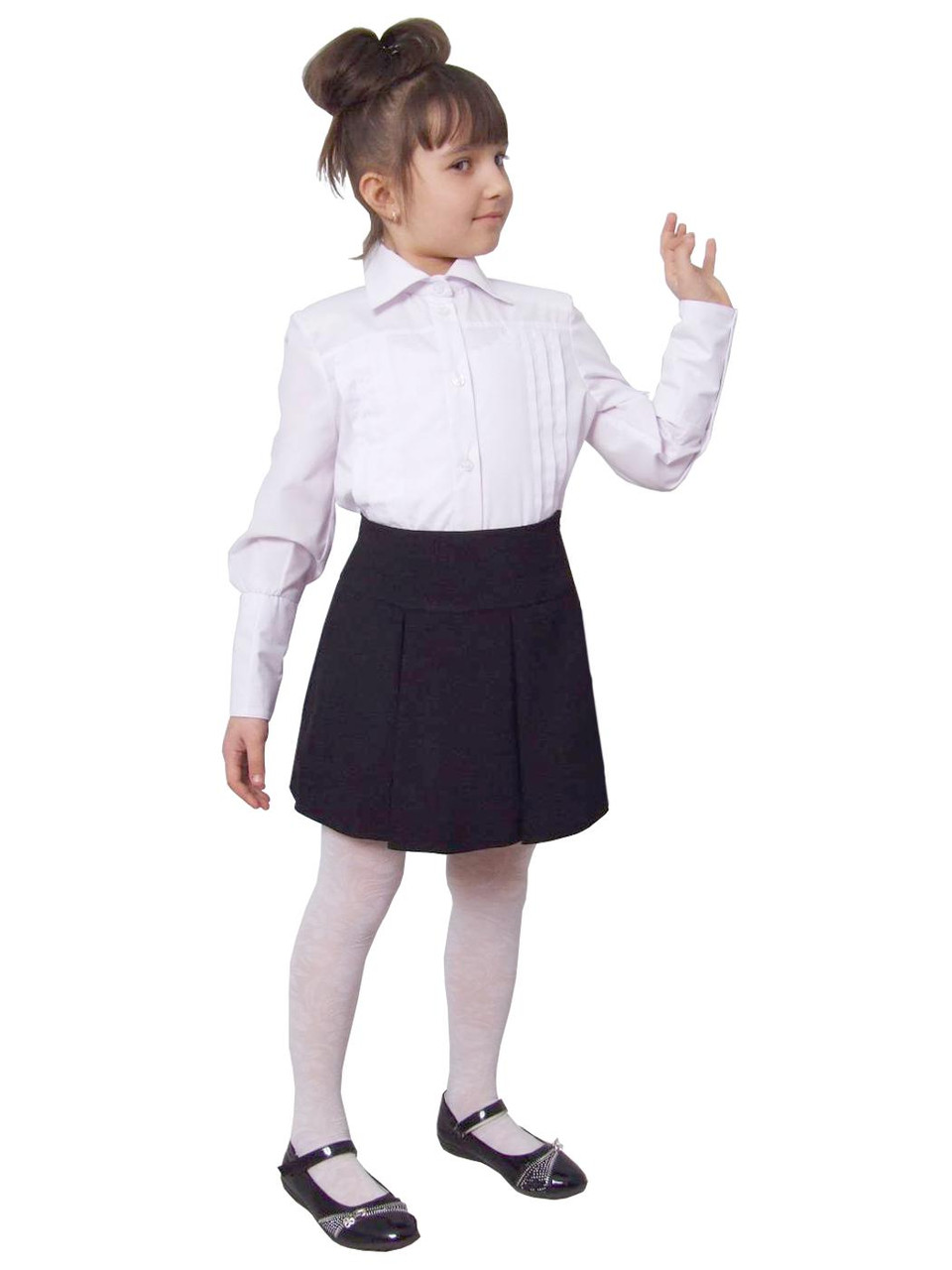 Блузка белая школьная