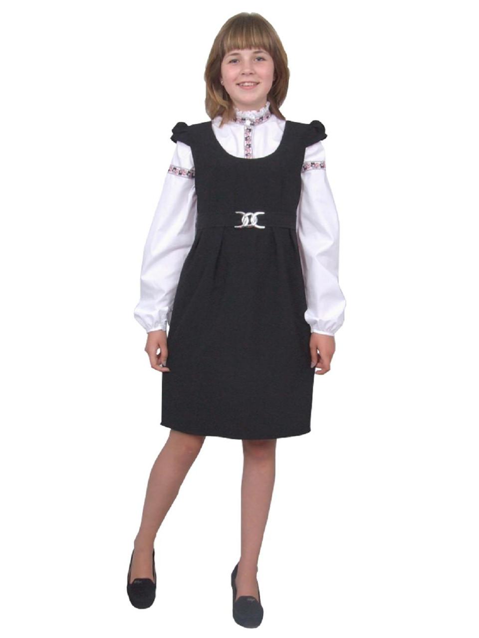 Школьные блузки для девочек рост 164