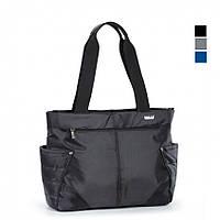 Молодежная сумка текстильная средняя Dolly 471 черный