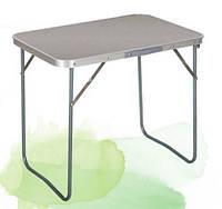 Маленький раскладной стол для семейного пикника: МДФ, металл, 72х49х62 см