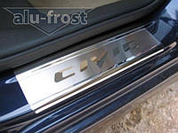Накладки на пороги Honda Civic 4d 2006+