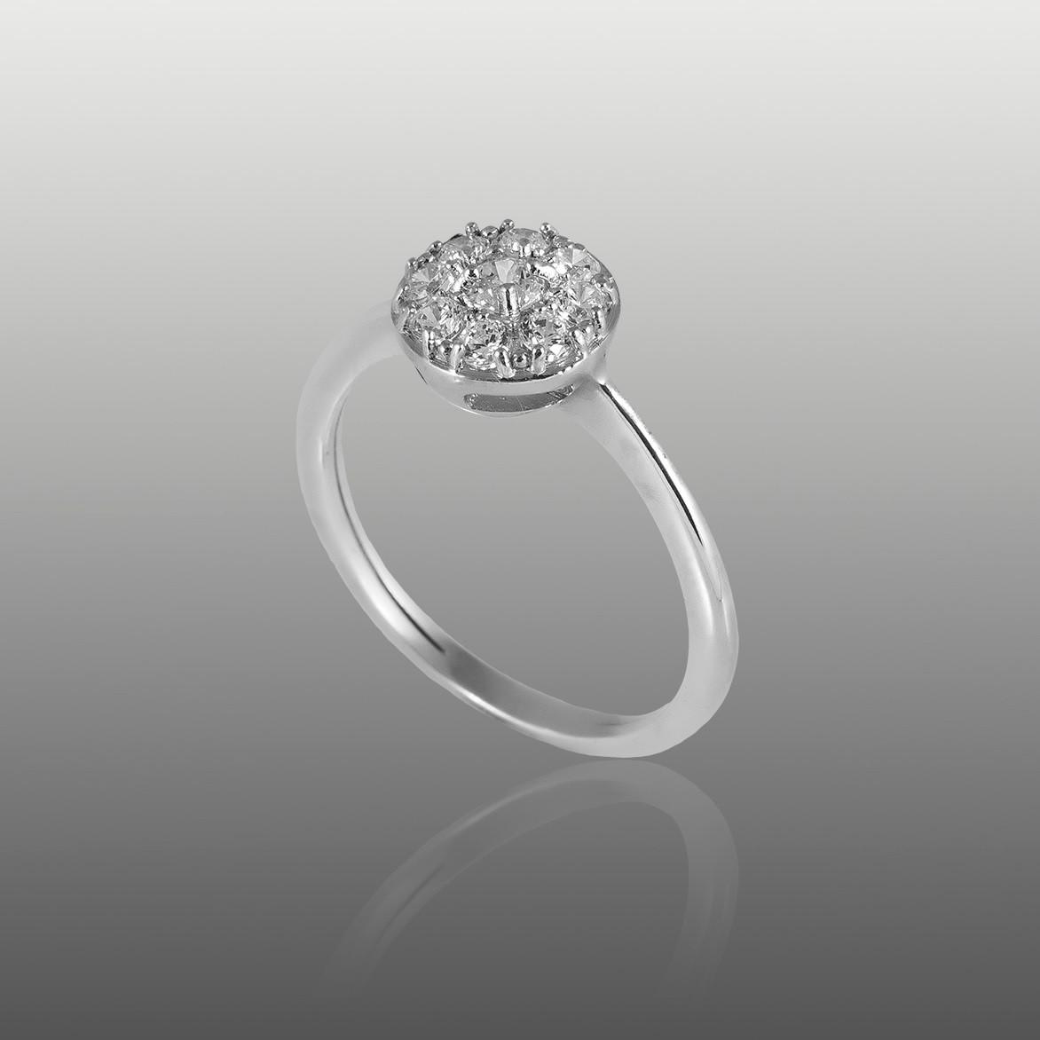 купить кольцо серебряное без камней
