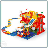 Детская игровой набор парковка Гараж с дорогой Вадер Wader 50400