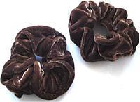 Резинка для волос велюровая